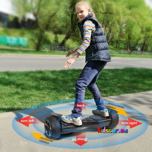 SMART HOVERBOARD 10,5 pouces Graffiti