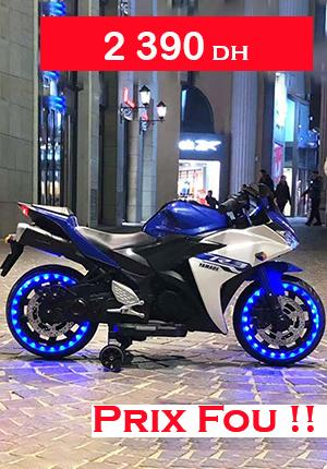 MOTO Style Yamaha R3 12V LED Musique